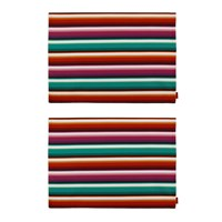 Missoni Home Zig Zag Rectangular Placemat Set Of 2
