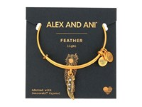Alex And Ani Path Of Symbols Feather Ii Bangle Rafaelian Gold Bracelet
