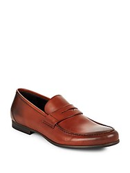 Harry's Of London Leather Penny Loafers Tan