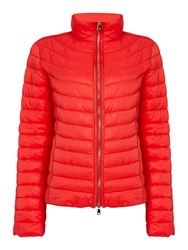 Oui Light Weight Quilt Jacket Red