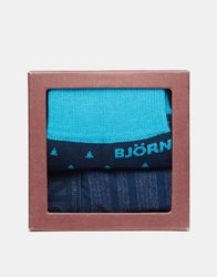 Bjorn Borg Trunk Sock Gift Set Blue