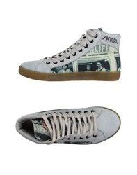 Springa Footwear High Tops And Trainers Women Light Grey