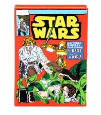 Olympia Le Tan Star Wars Book Clutch Multicoloured