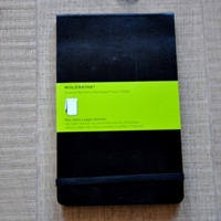 Bloc Notes A Pages Blanches Grand Modele Moleskine