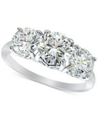 Giani Bernini Cubic Zirconia Trinity Ring In Sterling Silver Created For Macy's