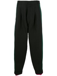 Haider Ackermann Pleated Front Trousers Black