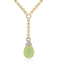 A Z Collection Teardrop Gold Plated Necklace