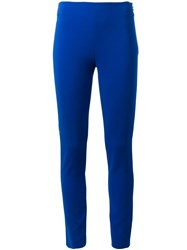 Moschino Slim Fit Trousers Blue