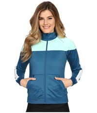 Brooks Rally Jacket River Surf Women's Coat Blue
