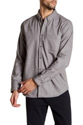 United By Blue Long Sleeve Regular Fit Shirt Gray