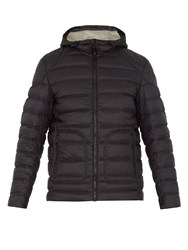 Belstaff Fullarton Quilted Down Hooded Jacket Black