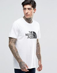 The North Face T Shirt With Easy Logo In White White