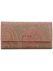 Etro Abstract Print Continental Wallet