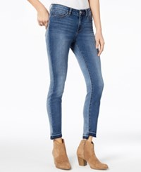 William Rast Skinny Ankle Jeans Front And Back