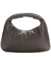 Bottega Veneta Large Intrecciato Leather Tote Brown