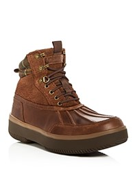 Barbour Rhino Waterproof Cold Weather Boots Brown