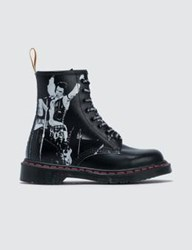 Dr. Martens 1460 Sxp Black Greasy And Black Backhand