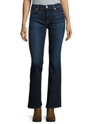 7 For All Mankind Dark Wash Bootcut Jeans Sntiagocny