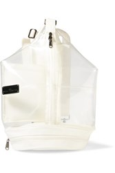 Adidas By Stella Mccartney Pvc And Shell Backpack White