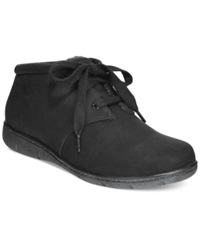 Easy Street Shoes Easy Street Nomad Booties Women's Shoes Black Combo