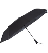 Fulton Golfer Open And Close Umbrella Black