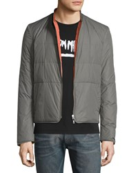 Maison Martin Margiela Reversible Quilted Down Jacket Olive Green