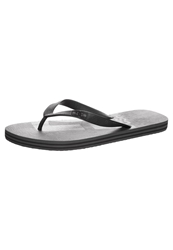 Dc Shoes Flip Flops Grey Black Black