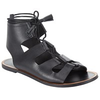 John Lewis Collection Weekend By Lannion Gladiator Sandals Black