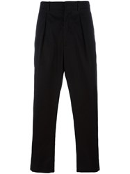 Marni Button Cuff Trousers Black
