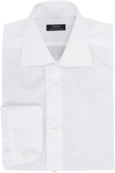 Fairfax Spread Collar Shirt White