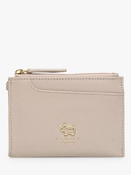 Radley Pockets Leather Small Coin Purse Grey