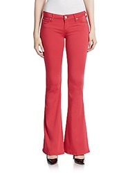 Hudson Colored Flared Jeans Soft Parade