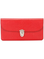 The Cambridge Satchel Company Push Lock Wallet Red