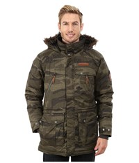 Columbia Barlow Pass 550 Turbodown Jacket Peatmoss Tweed Camo Men's Coat Brown
