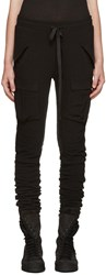 Haider Ackermann Black Military Leggings