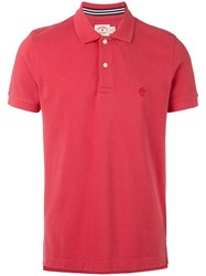Brooks Brothers Classic Polo Shirt Men Cotton Xxl Red