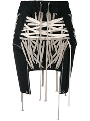 Rick Owens Laced Mini Skirt 60