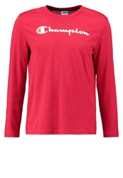 Champion Long Sleeved Top Red