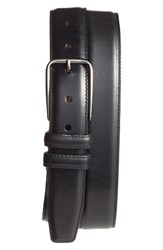 Nordstrom Men's Big And Tall Men's Shop Parker Leather Belt Black