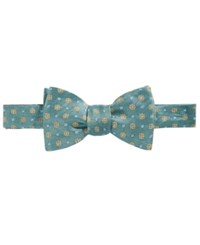 Brooks Brothers Men's Parquet Flower To Tie Bow Tie Green