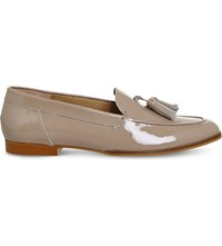 Office Petra Patent Leather Loafers Nude Patent