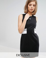 Fred Perry Archive Trico Dress Black