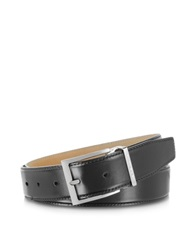 Moreschi York Black Calf Leather Belt