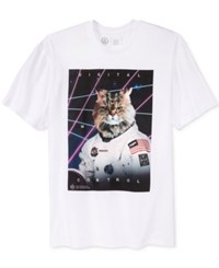 Neff Men's Graphic Print T Shirt White
