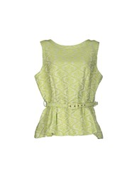 Darling Topwear Tops Women Acid Green