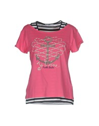 North Sails T Shirts Fuchsia