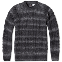 Chamula Fisherman Pullover Knit Grey Heather