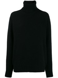 Dolce And Gabbana Turtle Neck Sweater Black
