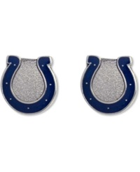 Aminco Indianapolis Colts Logo Post Earrings