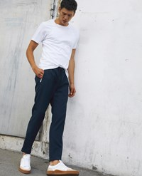 The Kooples Navy Blue Trousers With Elastic Waist
